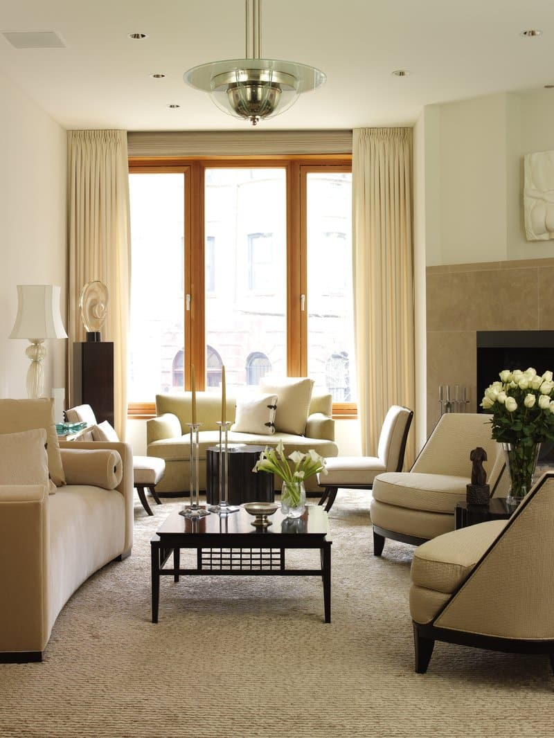 7 ways to get your home dinner party ready the study - Multiple seating areas in living room ...