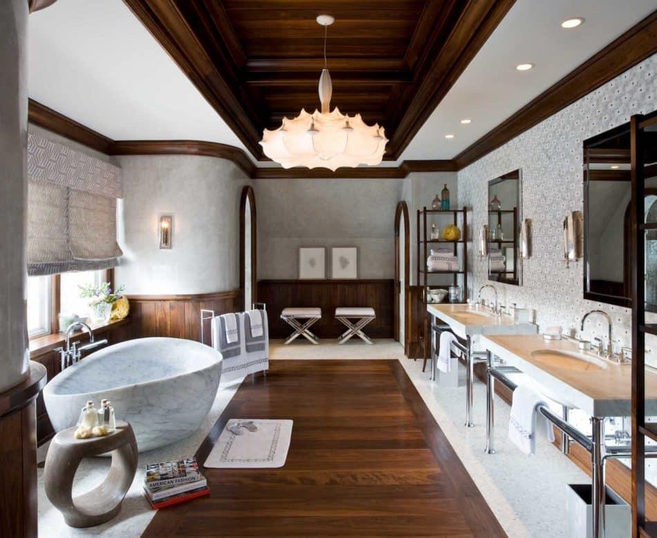 Nicole Fuller Interiors bathroom in Suffern, NY