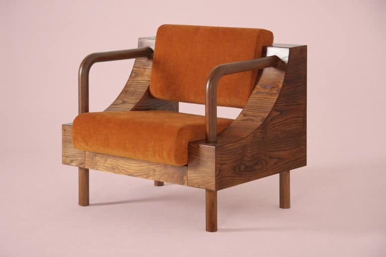 An armchair from Supaform's Normative collection