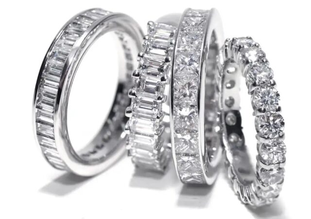 featured image for post: Stacked or Solo, Diamond Eternity Bands Are Forever in Style