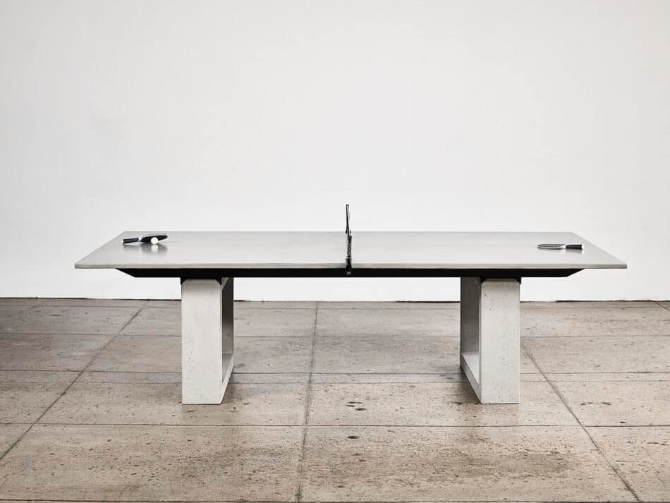 James De Wulf Concrete Table