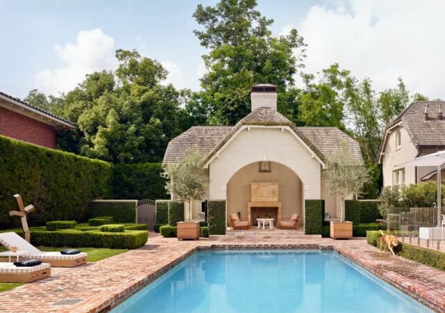 featured image for post: 28 Summer-Perfect Pool Houses