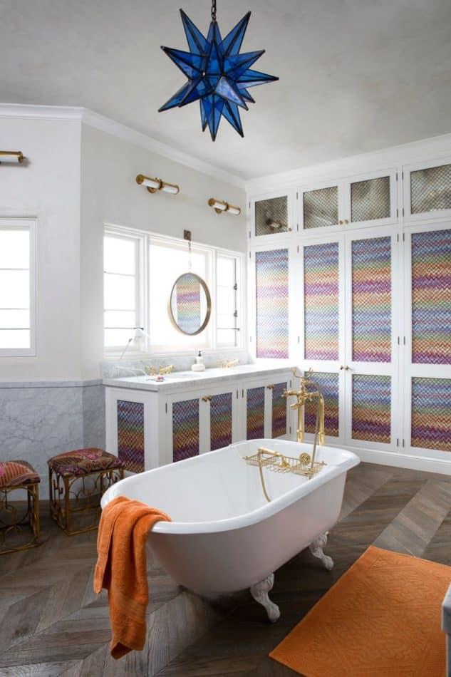 Martyn Lawrence Bullard West Hollywood bathroom