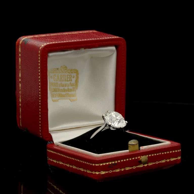 Cartier ring from Hancocks