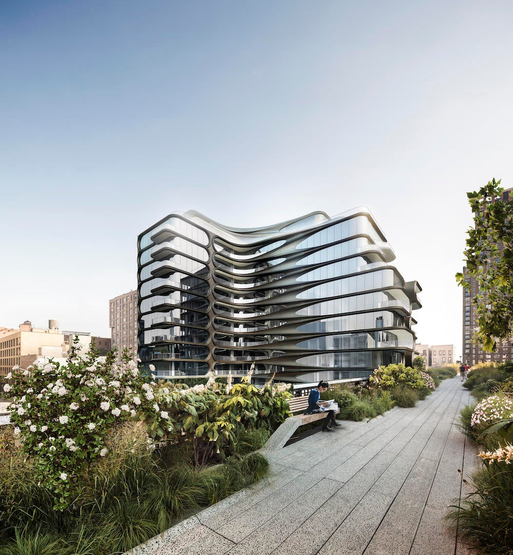 Tour The Zaha Hadid Building That Rises Over The High Line