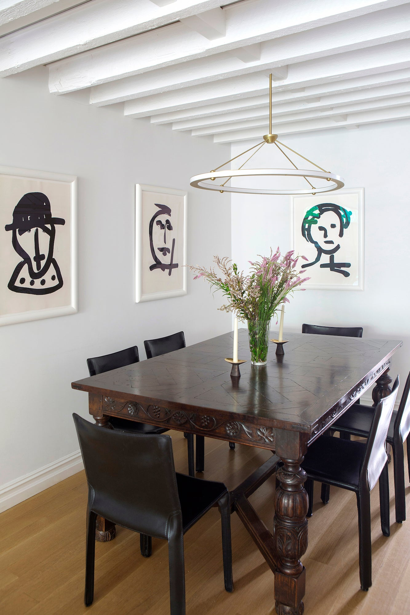 dining room by Fawn Galli