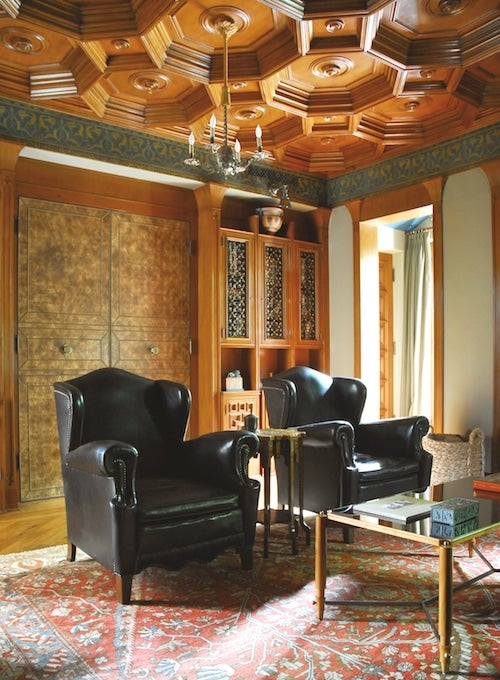 13 Spaces With High Style Ceilings The Study