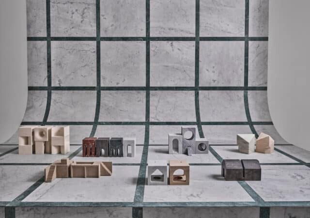 featured image for post: Salvatori Commissioned Several Famous Architects to Create Miniature Homes in Stone