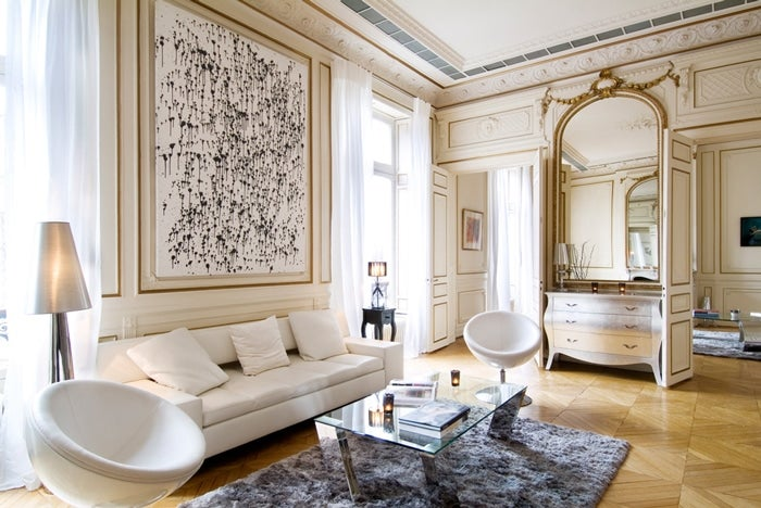 Paris Interior Design parisian interior design: 16 images of chic paris apartments & style