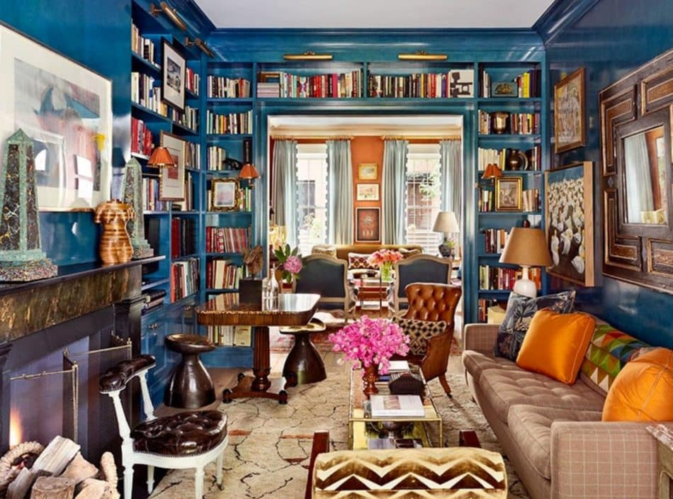 17 Fabulously Maximalist Rooms The Study