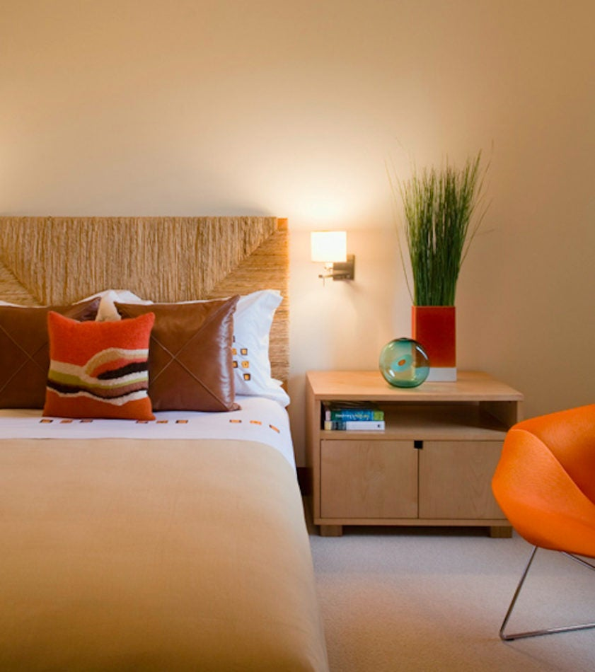 Southampton bedroom by David Scott