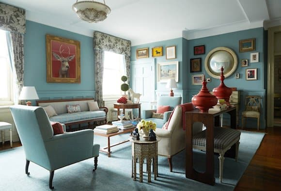 How To Decorate With Jewel Tones The Study