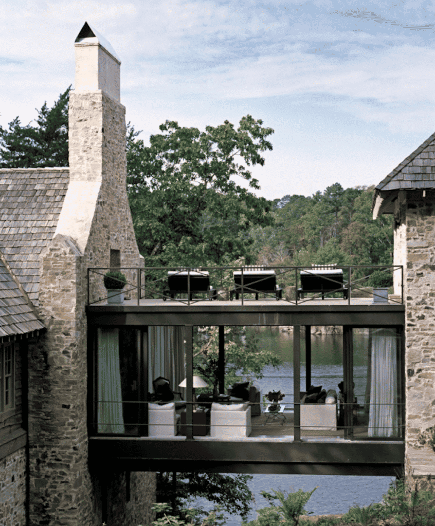 Smith Lake house by Andrew Brown