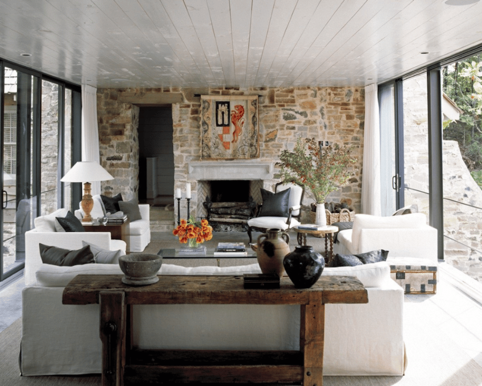 Smith Lake living room by Andrew Brown
