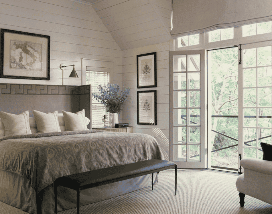 Smith Lake bedroom by Andrew Brown