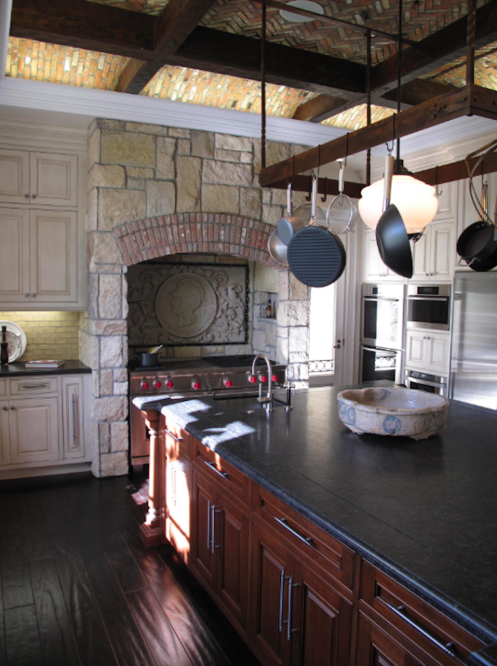 rustic kitchen by Stephen Stone