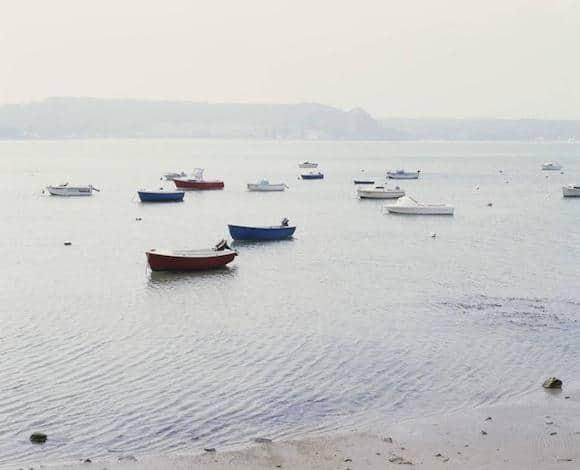 Seascape (Harbor), 1996, by Simon Watson