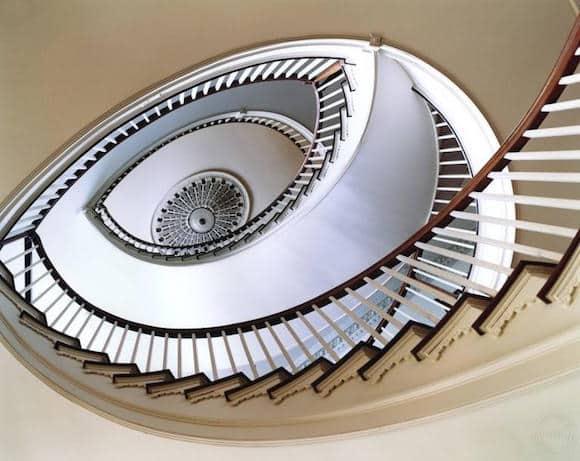 Staircase (Spiral), 2001, by Simon Watson