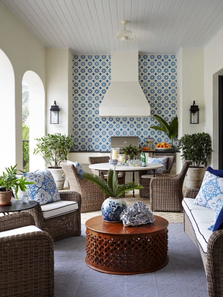 Florida patio by Summer Thornton