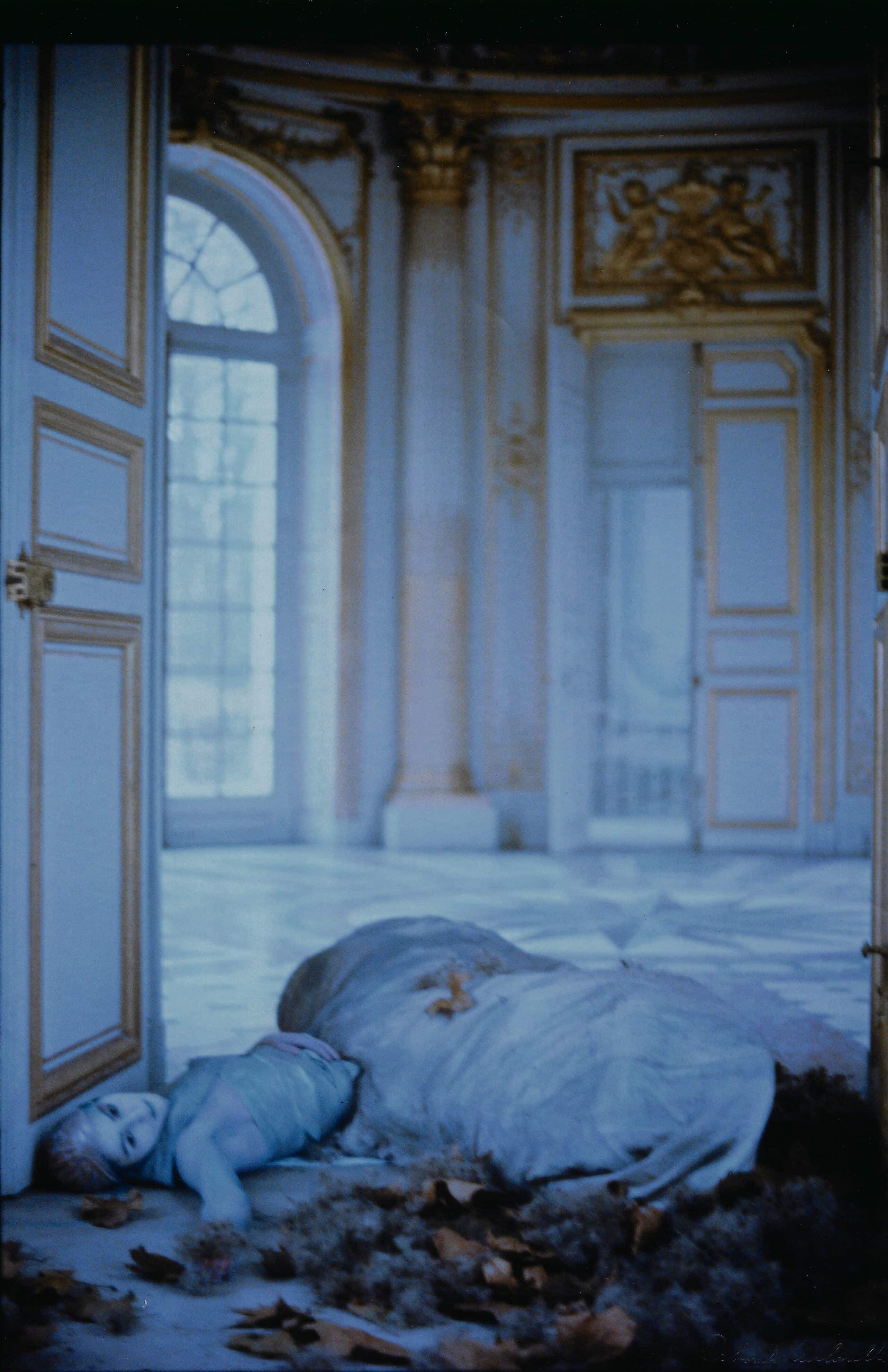 woman at Versailles