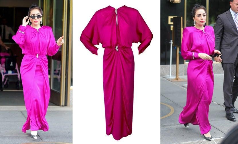 Valentino dress Stuart Weitzman pumps