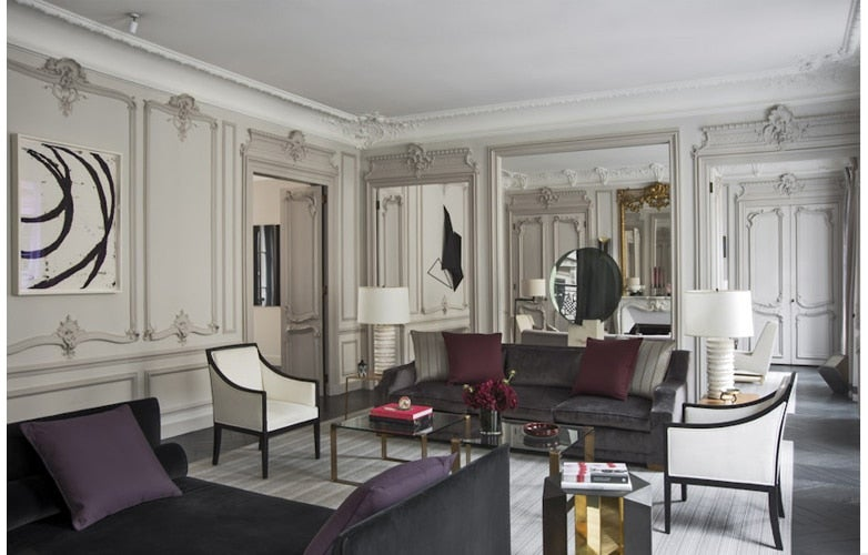 Project Spotlight  A Glamorous Paris Apartment by Champeau and Wilde Parisian Interior Design 16 Images of Chic Apartments Style