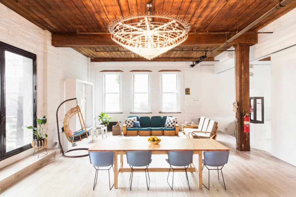 Williamsburg loft by Elizabeth Roberts