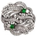This Gem-Encrusted Boucheron Brooch Is a Symbol of Mid-Century Glamour and Clever Design