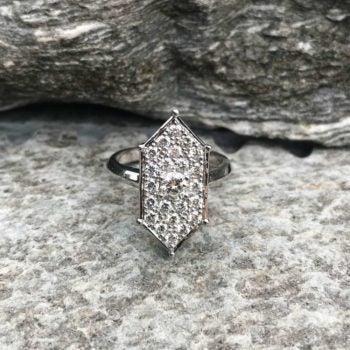 Zoe & Morgan engagement ring