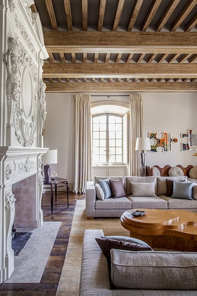 15 Fabulous French Homes The Study