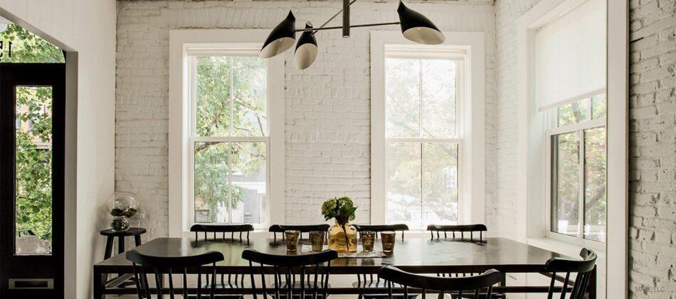Frances Mildred dining room