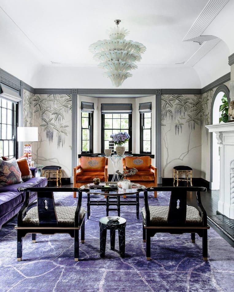 Sydney living room designed by Brendan Wong