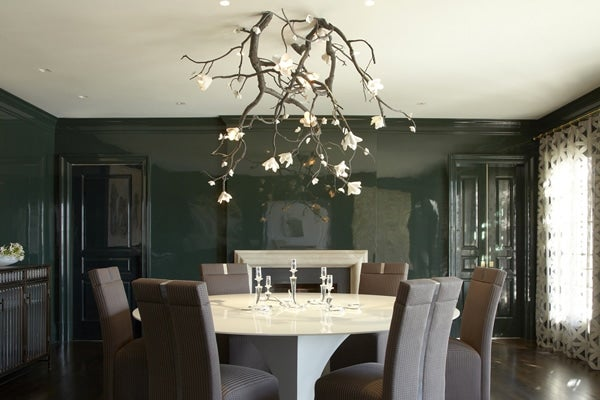 17 Rooms With Dramatic Chandeliers The Study