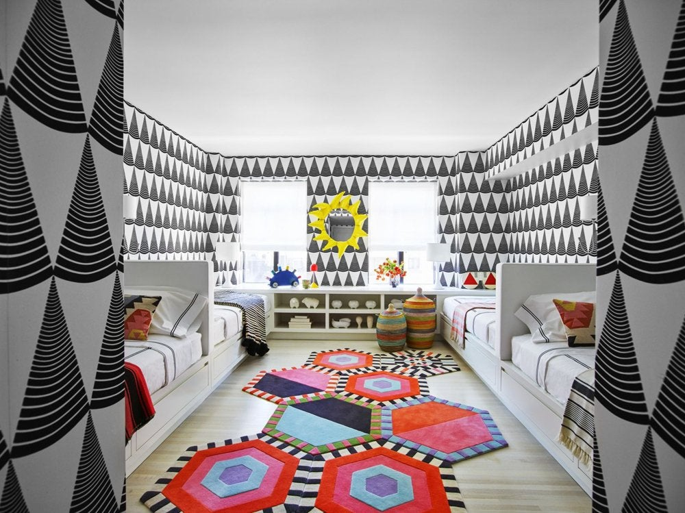 U201cThis Kidsu0027 Room Was Designed For The Grandchildren Of An Especially  Glamorous, Globetrotting, Art Collecting Client Who Never Shied Away From A  Bold ...
