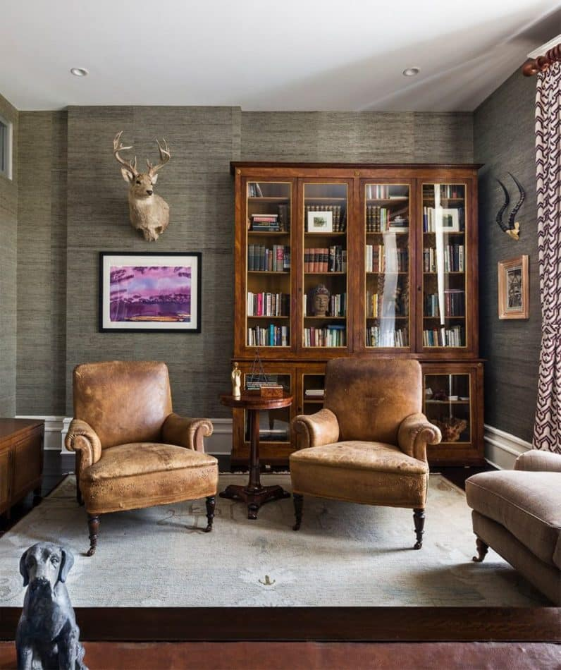 Harlem townhouse by Sheila Bridges