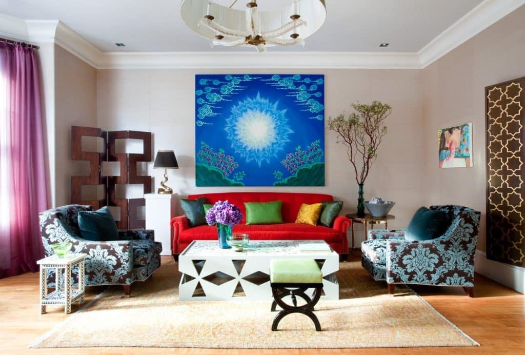 Frank Roop Boston living room