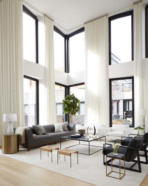 Contemporary Living Room Designs: 18 Interiors With Stunning Windows