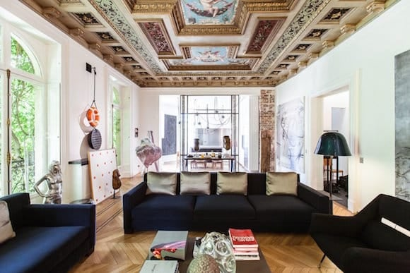 Isabelle Stanislas Designed This Apartment In Parisu0027s Seventh  Arrondissement For A Contemporary Art Collector. The Home Includes A  19th Century Ceiling That ...