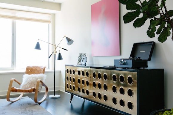 15 Rooms with Brass Accents | The Study