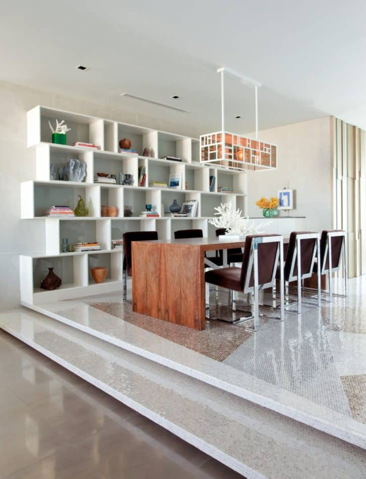 contemporary Miami dining room by Frank Roop
