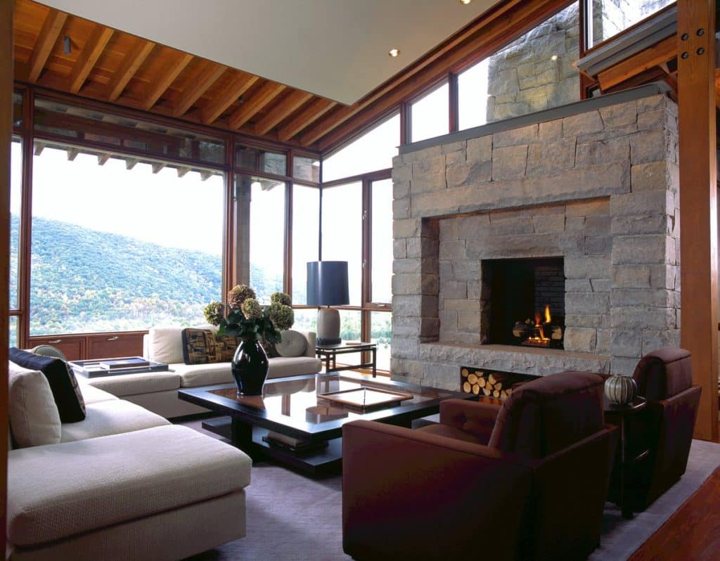 living room fireplace by Stephen Shadley