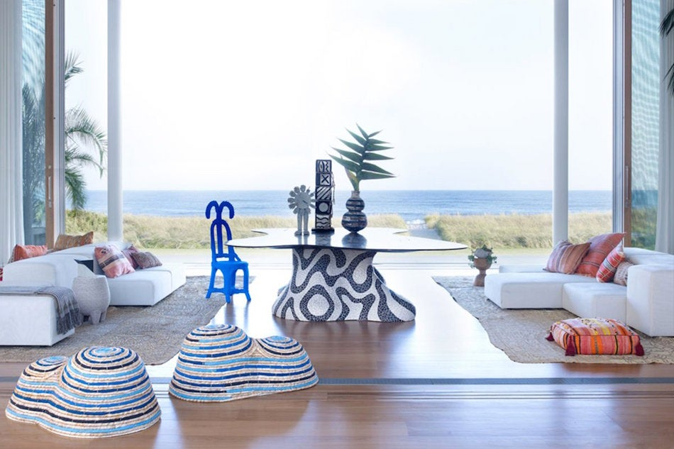 Long Island beach house by Kelly Behun