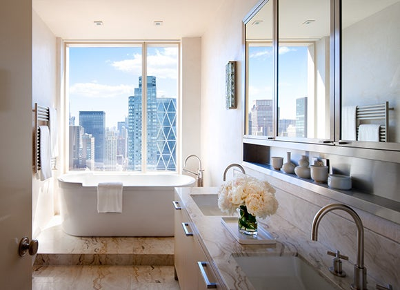 contemporary transitional bathroom new york new york by - New York Bathroom Design