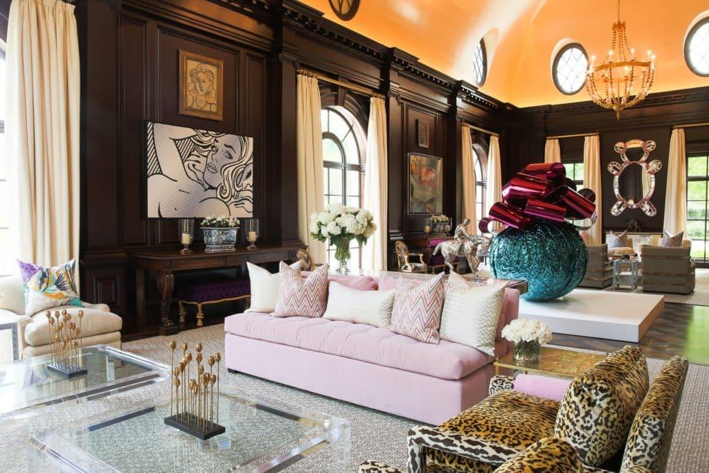 Kirsten Kelli Dallas living room