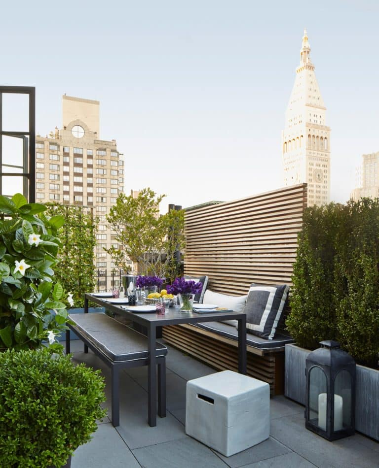 New York patio by Timothy Whealon