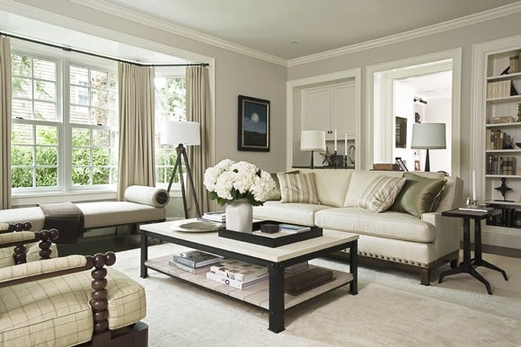country industrial living room east hampton ny by - Living Room East Hampton