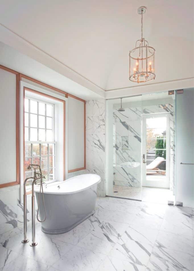 StudioDykas bathroom in Chestnut Hill, MA
