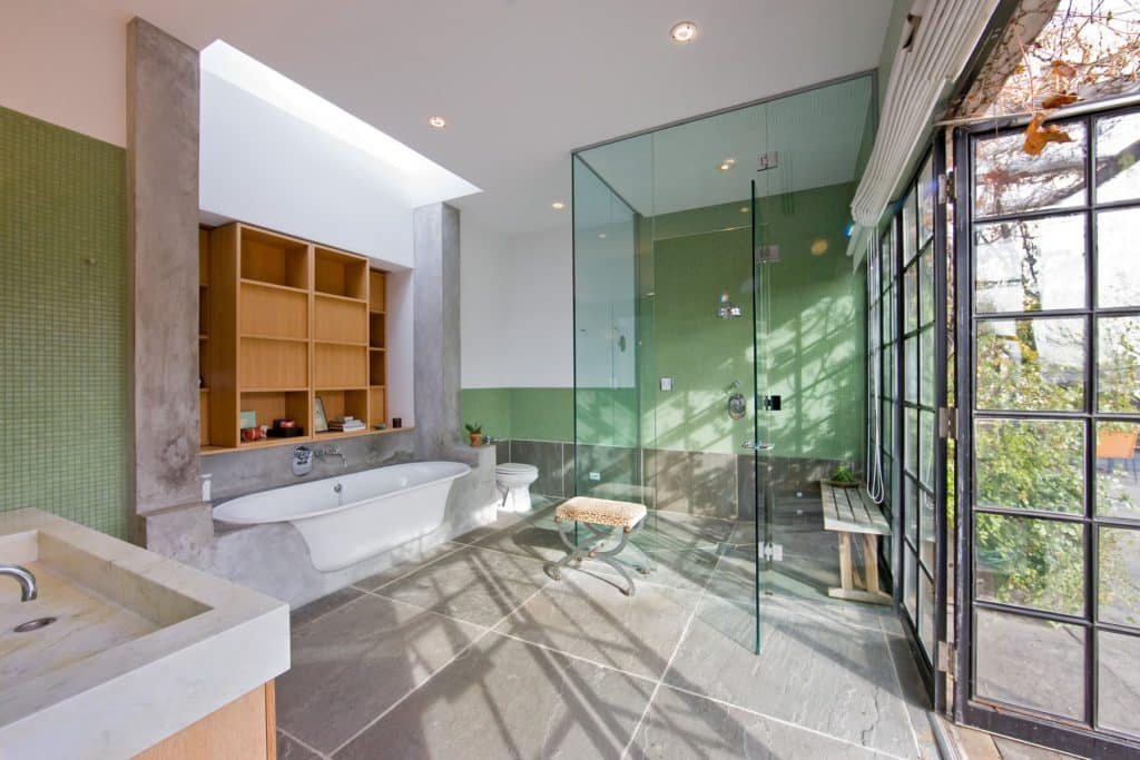 loft bathroom by Michael Haverland
