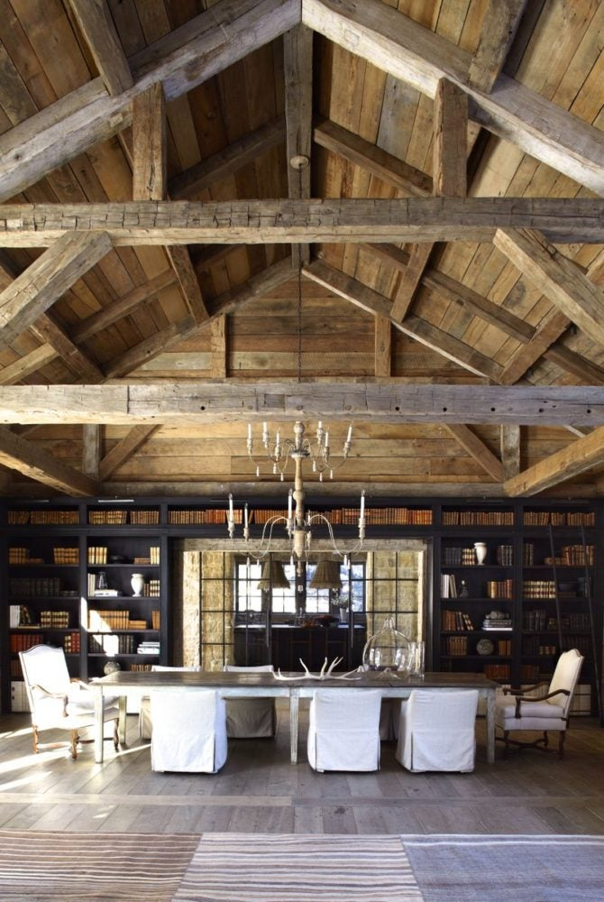 21 chic chalet interiors the study rh 1stdibs com intérieur design chalet interior design chalet style