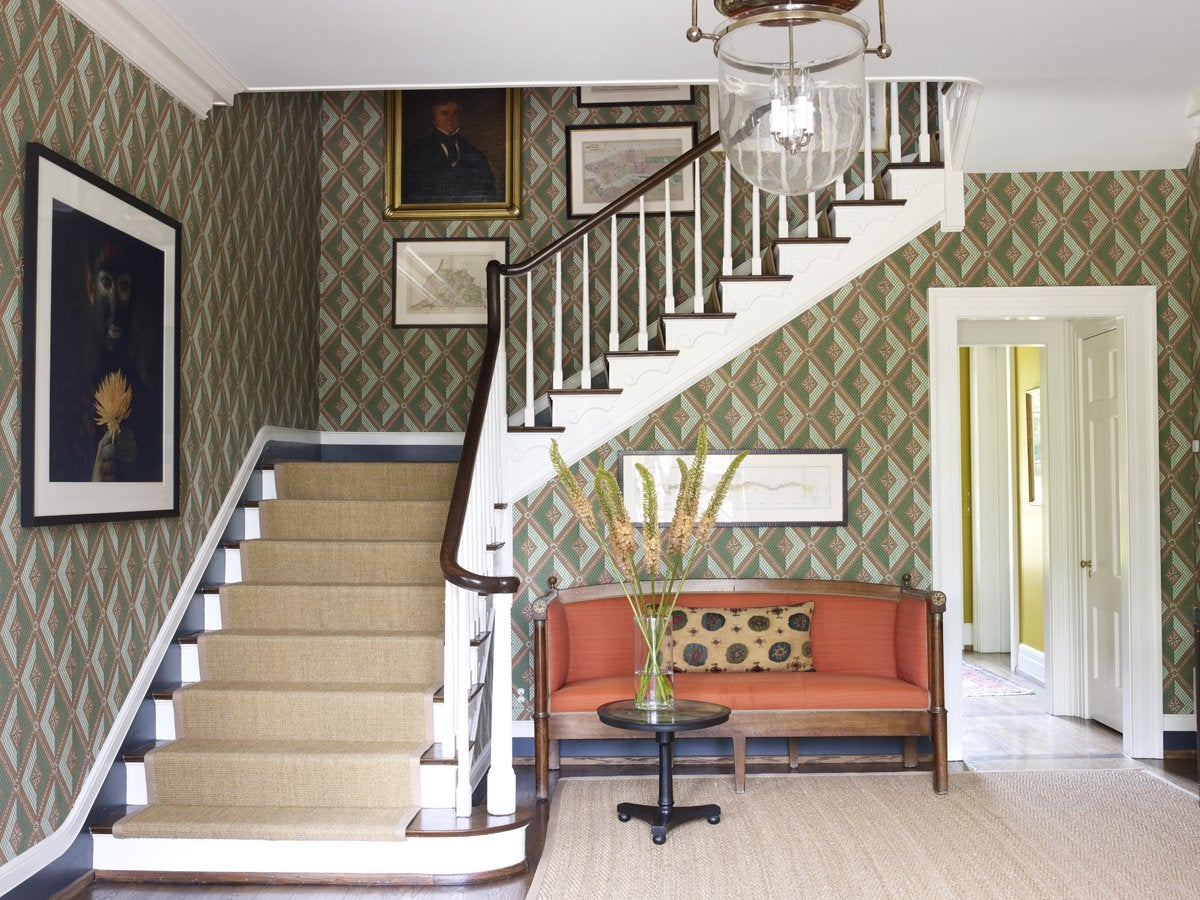 Entry Foyer Wallpaper : Enchanting entryways and flawless foyers the study